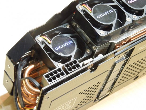 Gigabyte GTX 680 SOC WindForce x5 3 620x465 Gigabyte GeForce GTX 680 SuperOverclock WindForce 5X al detalle