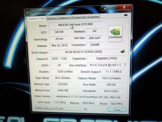 Gigabyte GTX 680 SOC WindForce x5 7 620x465 Gigabyte GeForce GTX 680 SuperOverclock WindForce 5X al detalle