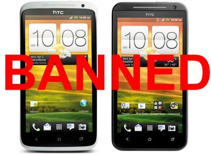 HTC One X HTC EVO 4G LTE baneados de EEUU HTC One X y HTC EVO 4G LTE exiliados de los EE.UU.