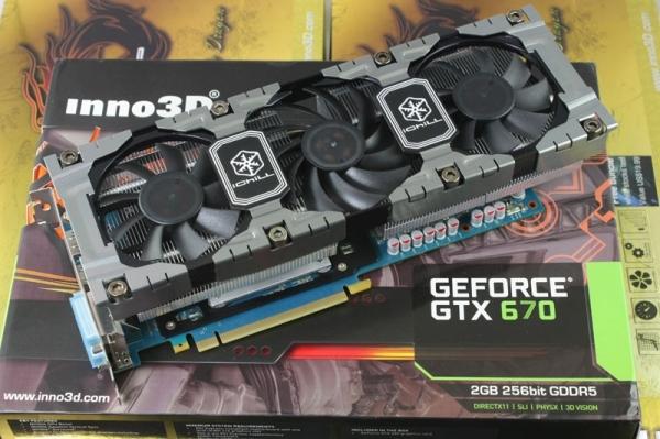 Inno3D GeForce GTX 670 iChill HerculeZ Inno3D lanza la GeForce GTX 670 iChill HerculeZ