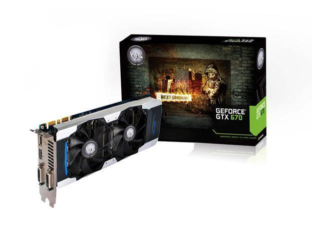 KFA2 lanza la GeForce GTX 670 & GTX 670 EX OC