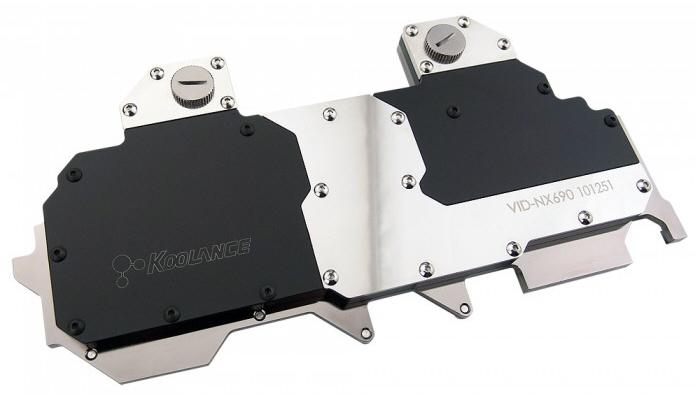 Koolance lanza el bloque de agua VID-NX690 para la GeForce GTX 690