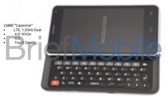 LG LS860 Cayenne Filtrado el LG LS860 Cayenne