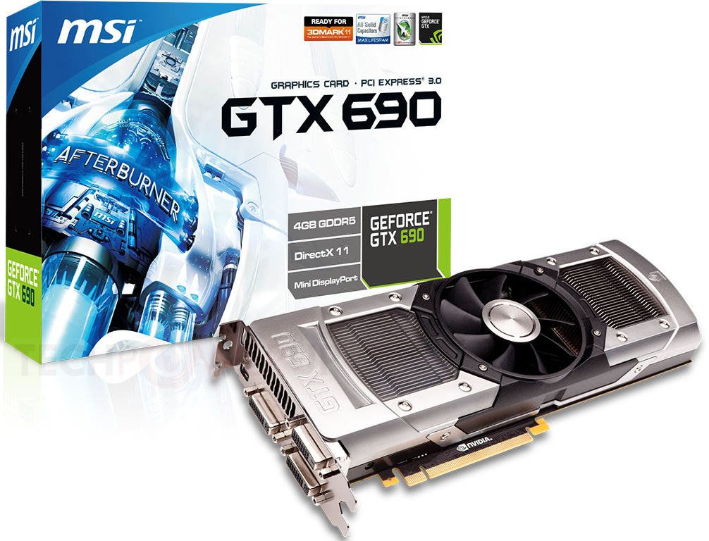 MSI GeForce GTX 690 anunciada
