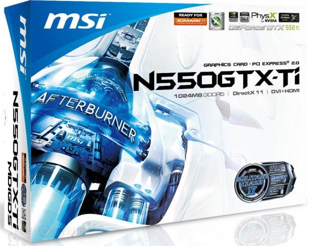 MSI N550GTX Ti MD1GD5 V2 1 620x492 MSI lanza la GeForce GTX 550 Ti