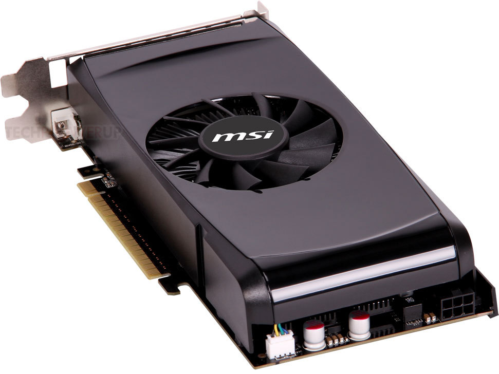 MSI lanza la GeForce GTX 550 Ti