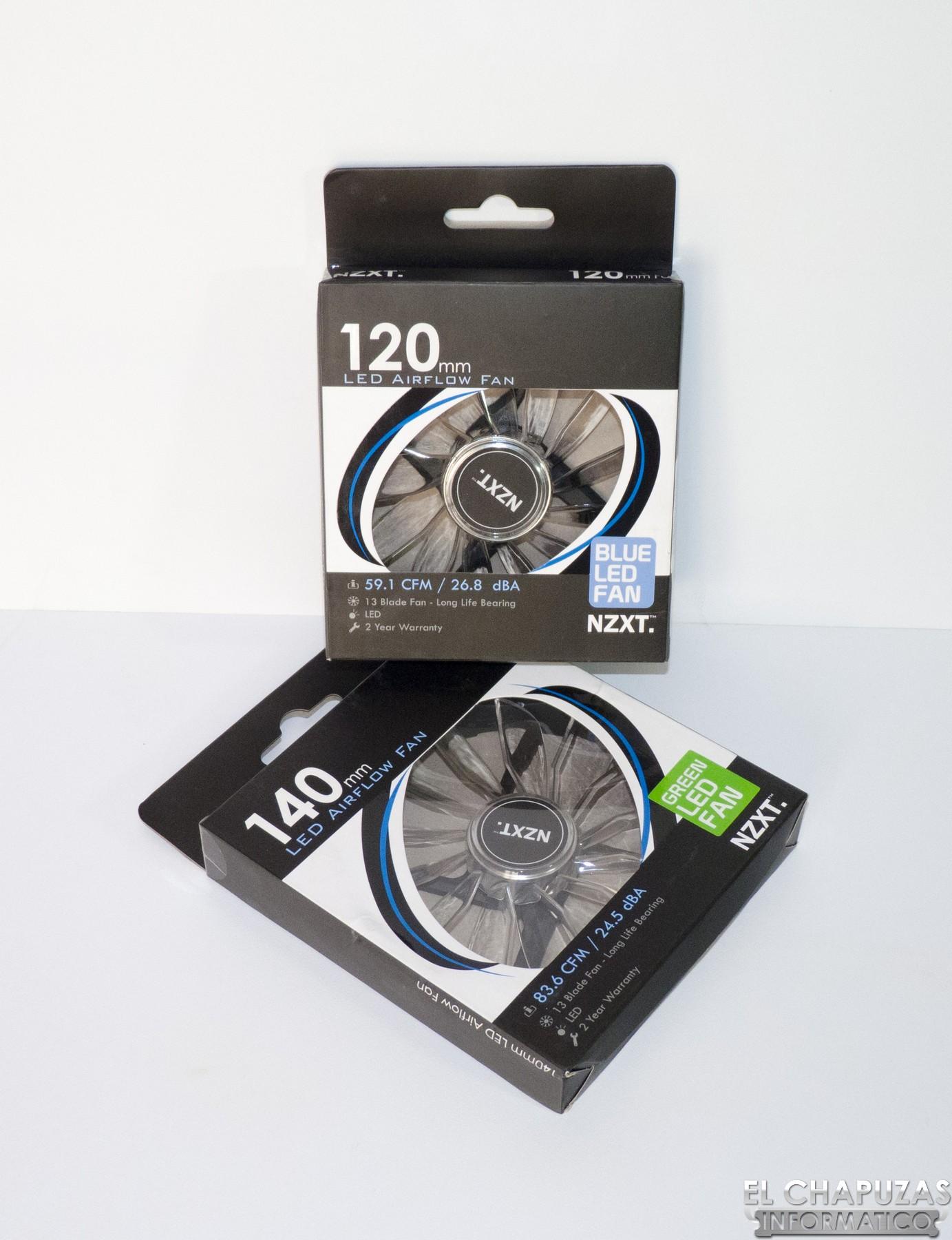 Review: Ventiladores NZXT FZ LED