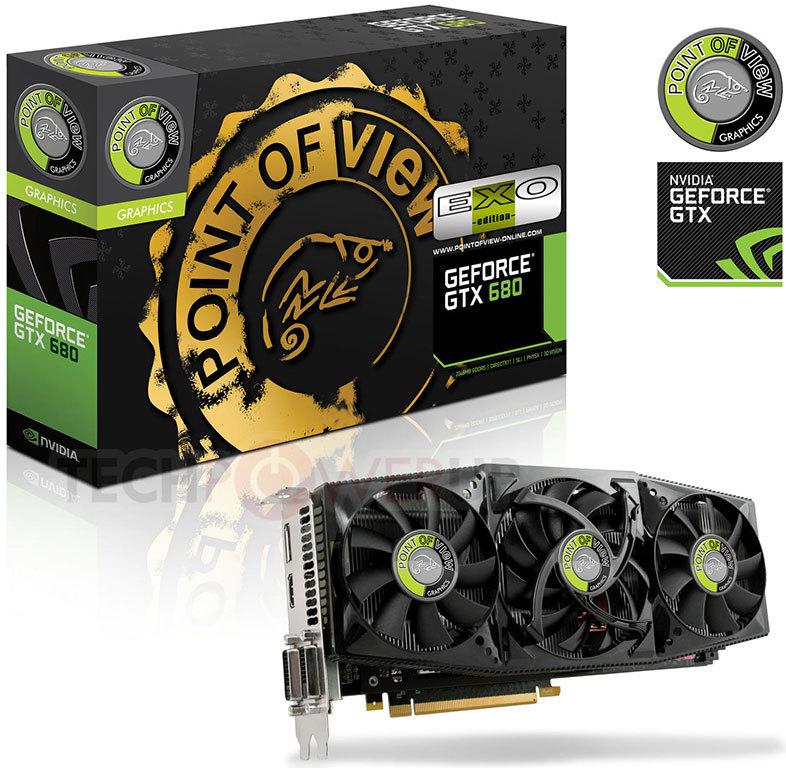 Point of View lanza la GeForce GTX 680 EXO