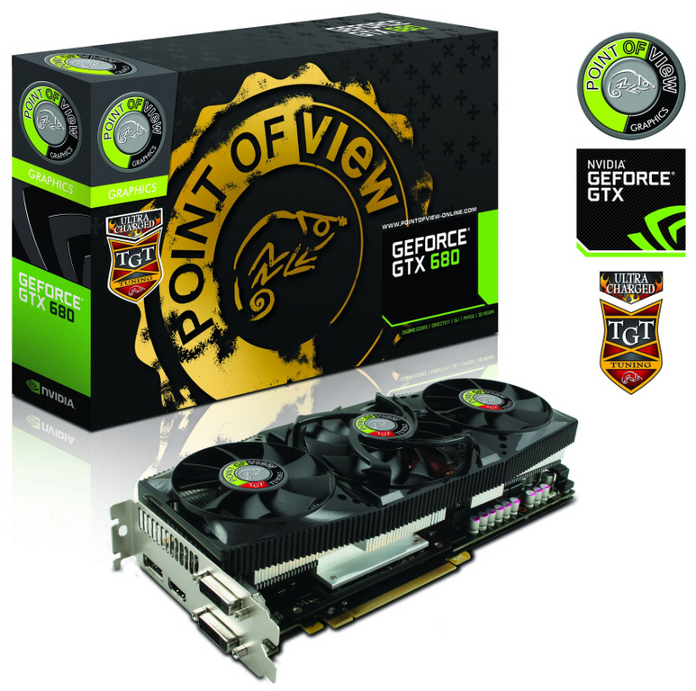 Point of View anuncia la GeForce GTX 680 UltraCharged