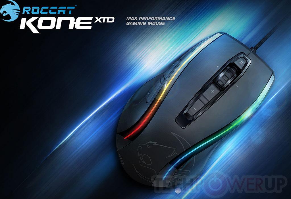 Roccat presenta sus nuevos ratones Gaming Kone XTD & Lua