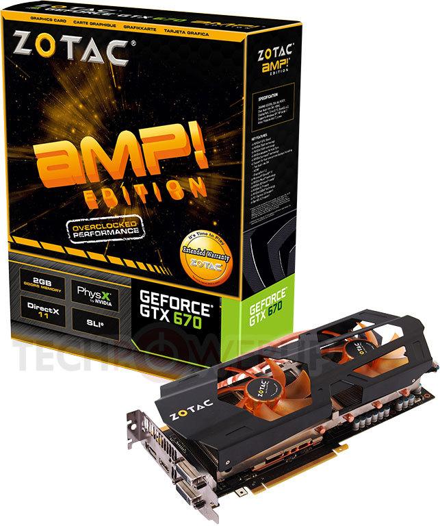 Zotac lanza la GeForce GTX 670 AMP! Edition