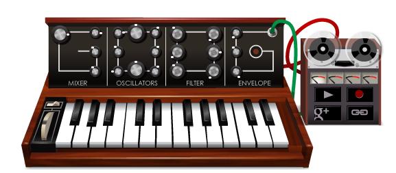 Google se actualiza con un nuevo Doodle para los amantes de la música electrónica