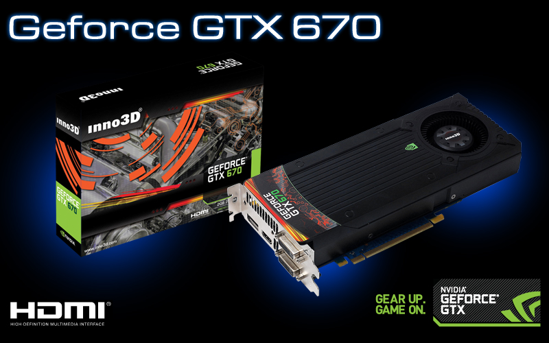 Inno3D se suma a los lanzamientos de la GeForce GTX 670