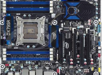 Intel desvela su placa DX79SR para el socket LGA2011