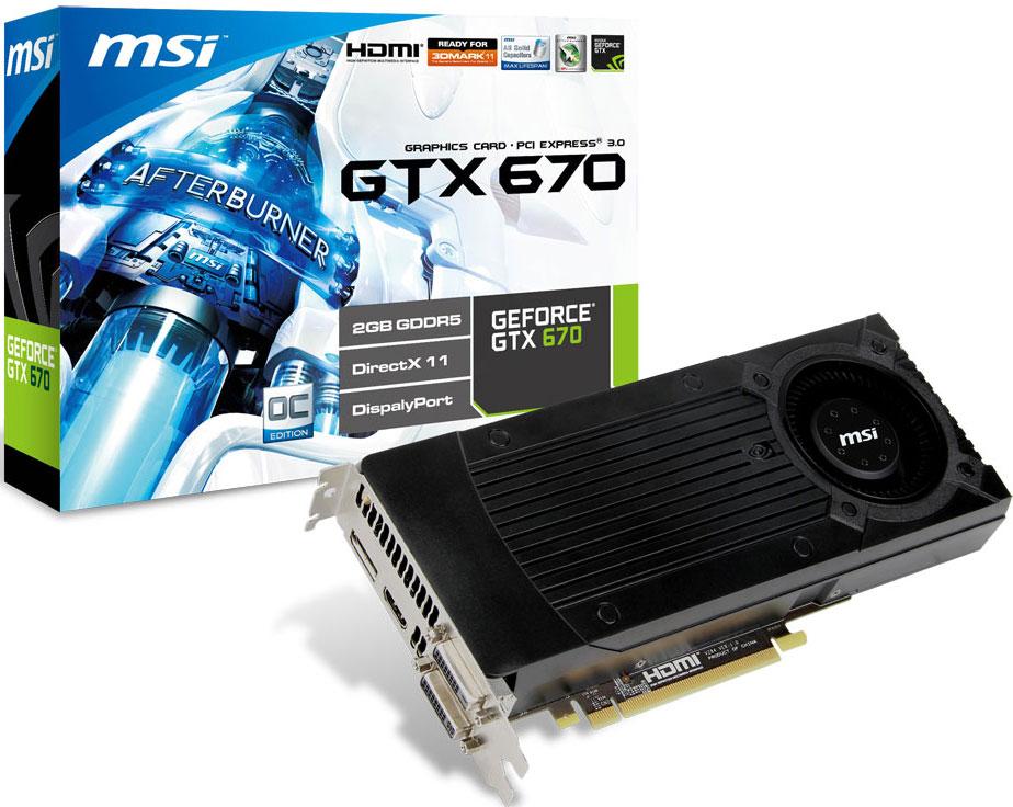 MSI también presenta su GTX 670