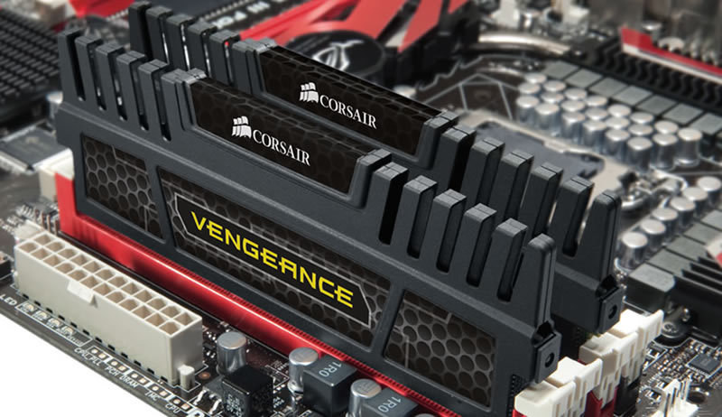 Corsair lanza un nuevo kit de 16GB de memorias Vengeance