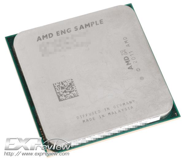 Primera AMD APU Trinity en imágenes