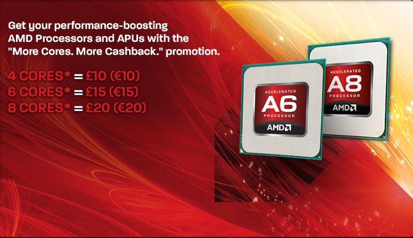 AMD estrena rebajas para sus CPUs de 4, 6 y 8 núcleos en Europa
