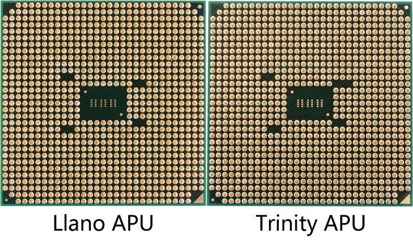 APU Llano vs APU Trinity Trinity A6 5400K: La APU más pequeña del socket FM2