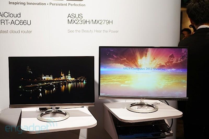 Computex 2012: Monitores Asus Designo MX279H y MX239H