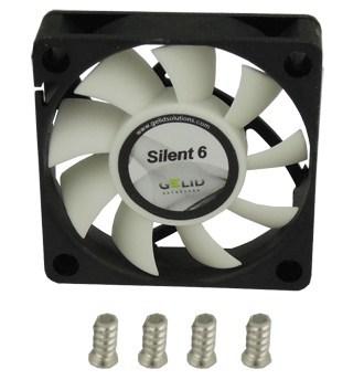 GELID anuncia la serie de ventiladores Silent 5 y Silent 6