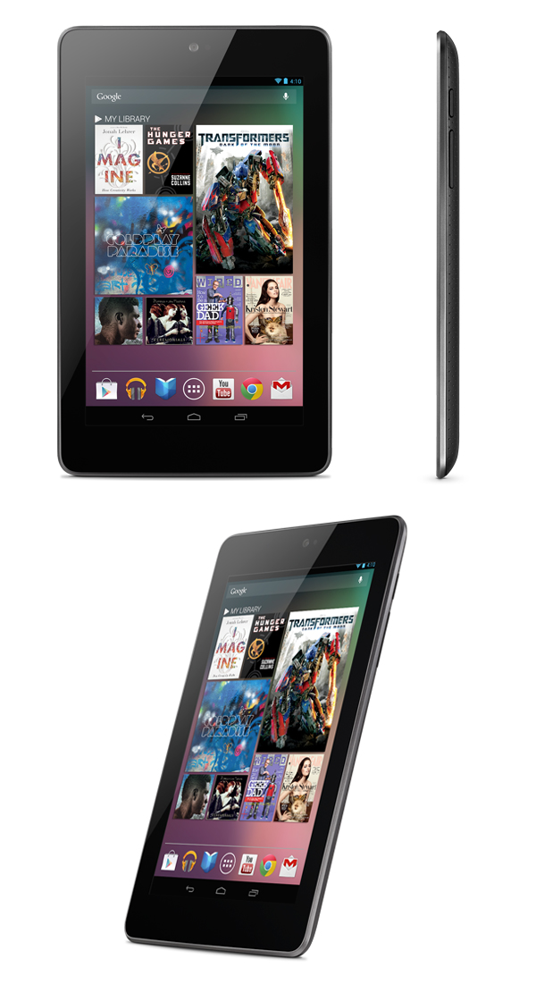 Se anuncia oficialmente la tablet Google Nexus 7