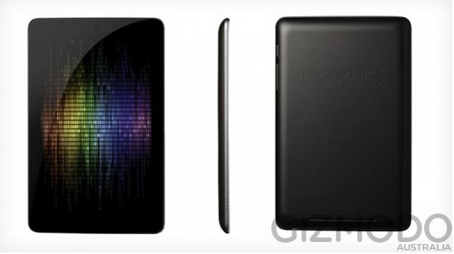 Filtrados los posibles detalles de la Tablet Google Nexus 7