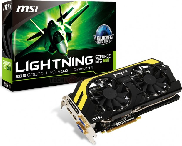 MSI N680GTX Lightning 12 619x495 MSI lanza la GeForce GTX 680 Lightning