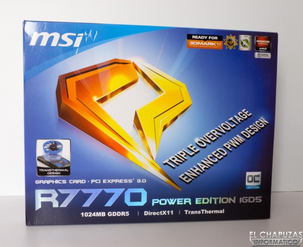 MSI R7770 Power Edition 01 619x505 Review: MSI R7770 Power Edition