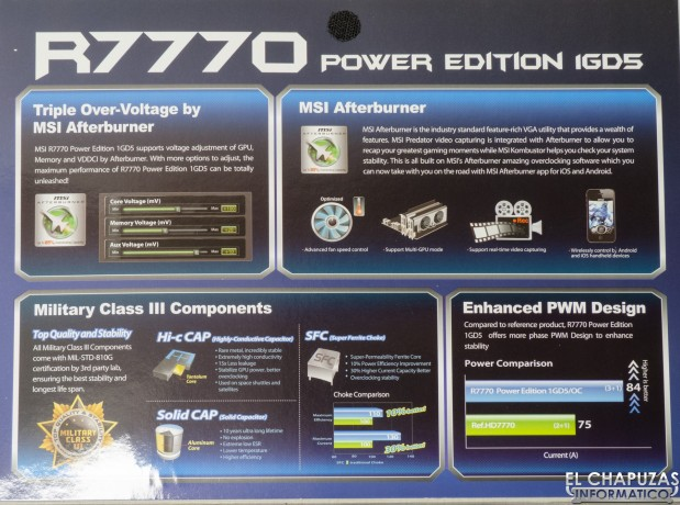 MSI R7770 Power Edition 04 619x460 Review: MSI R7770 Power Edition