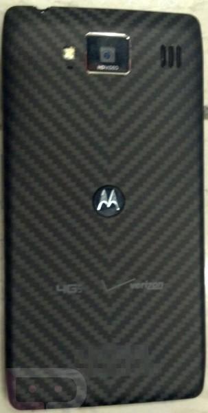 Motorola Droid RAZR HD Motorola Droid RAZR HD se deja ver en unas borrosas imágenes