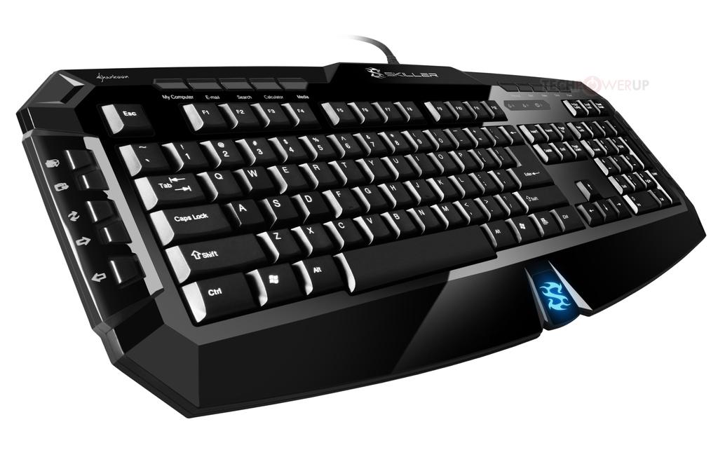 Sharkoon lanza el teclado Gaming Skiller