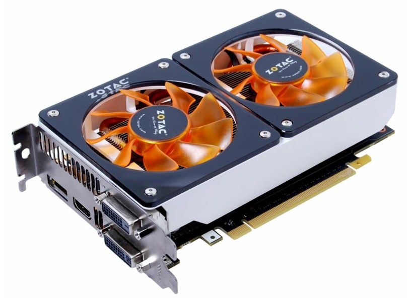 Zotac GeForce GTX 670 TwinCooler en imagen