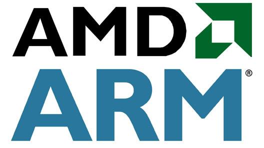 amd arm AMD integrará núcleos ARM en sus próximas APUs