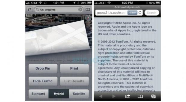 apple ios 6 tomtom 1 620x340 iOS 6 usará los mapas de TomTom