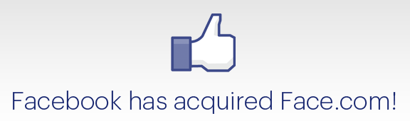 facebook compra face.com  Facebook adquiere la compañía de reconocimiento facial Face.com