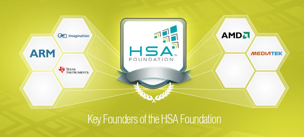 AMD, ARM, Samsung y otras empresas se asocian en la fundación HSA