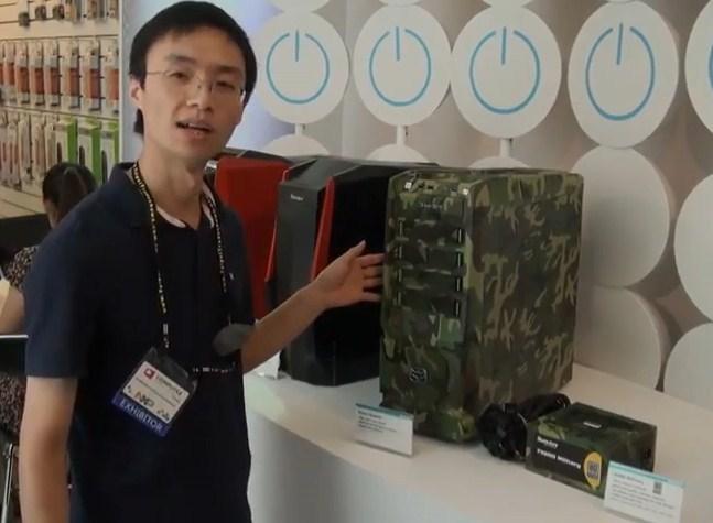 Huntkey introduce un kit de fuente y caja con diseños militares