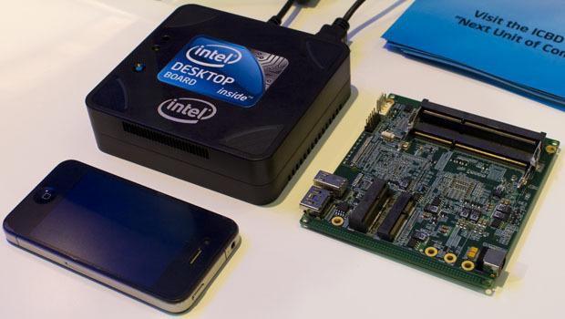 El mini-pc de Intel saldrá a la venta por 400 dólares