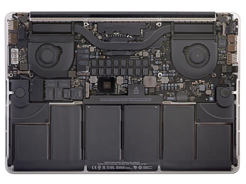 El nuevo MacBook Pro Retina podría ser el portátil más difícil de reparar