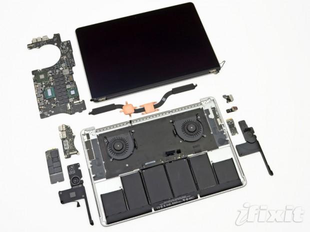 macbook pro retina 2 620x465 El nuevo MacBook Pro Retina podría ser el portátil más difícil de reparar