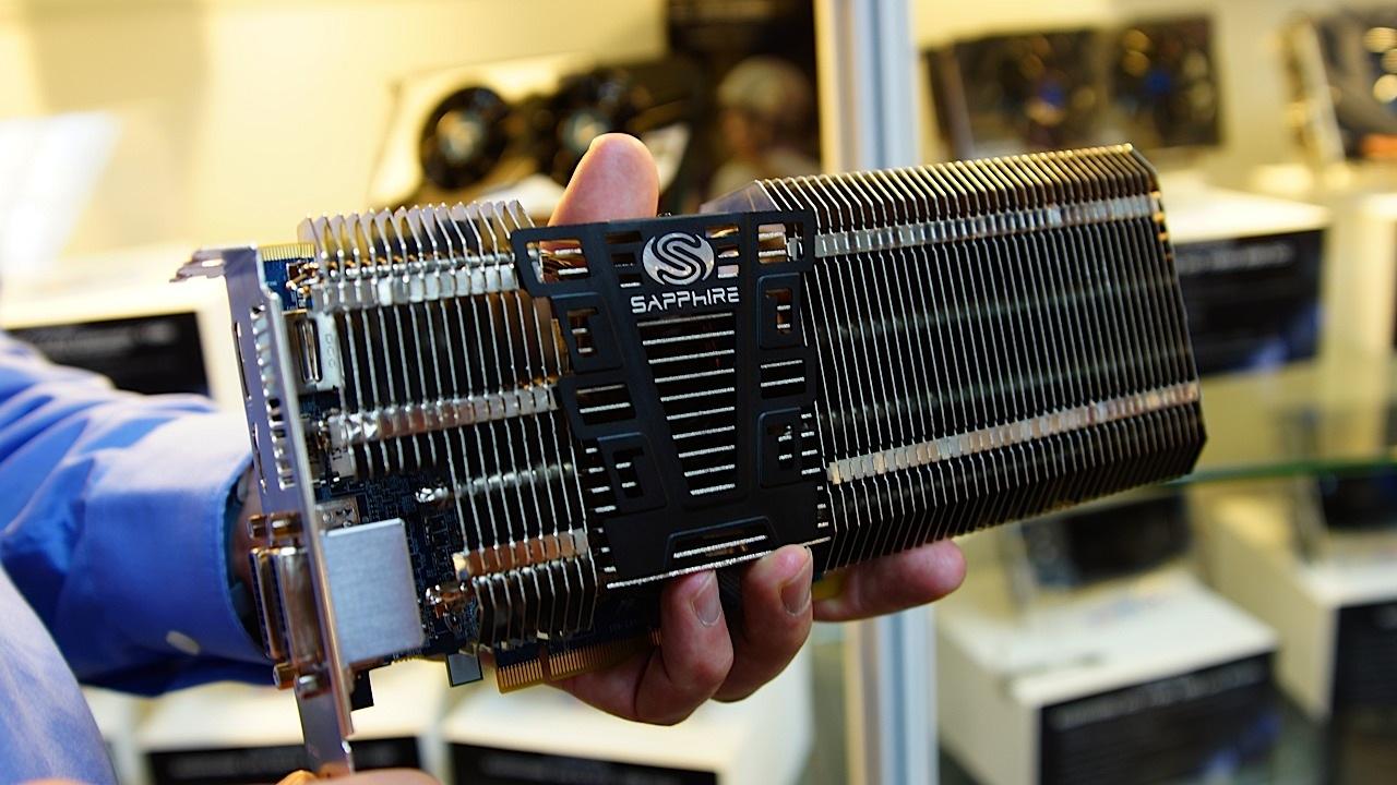 Computex 2012: Sapphire desvela su Radeon HD 7770 con refrigeración pasiva