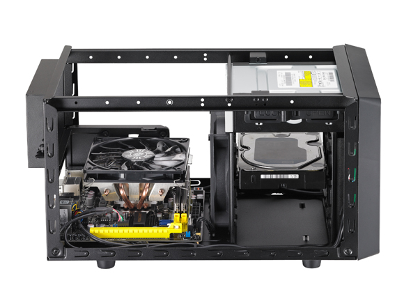 Cooler Master Elite 120 4 Cooler Master desvela el chasis compacto Elite 120 Advanced