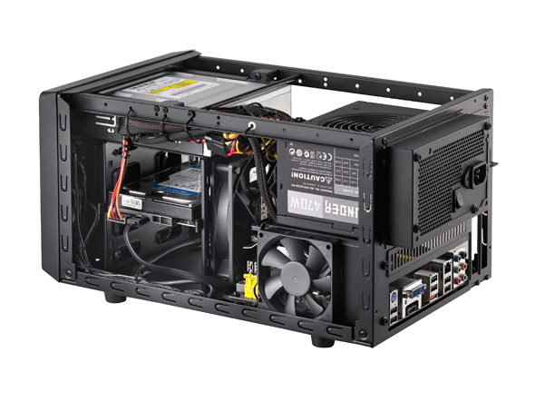 Cooler Master Elite 120 5 Cooler Master desvela el chasis compacto Elite 120 Advanced