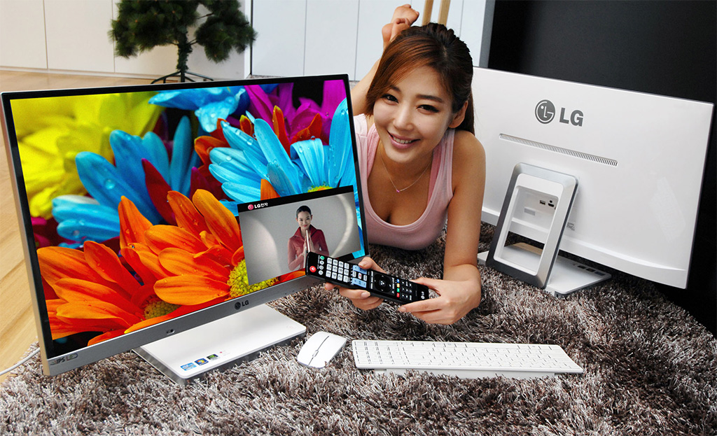 LG anuncia sus All-in-One V720 Series