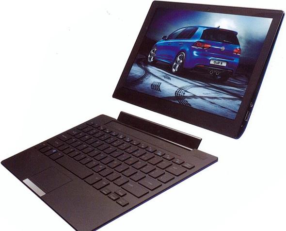 Pioneer DreamBook U12 1 Pioneer presenta su Tablet/Ultrabook DreamBook U12