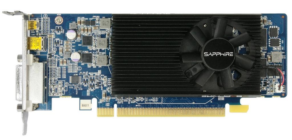 Sapphire Radeon HD 7750 Low Profile (2)