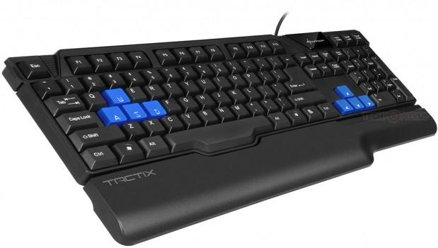 Sharkoon Tactix 1 619x351 Sharkoon anuncia el teclado Gaming Tactix