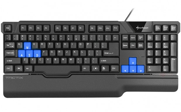 Sharkoon Tactix 2 619x383 Sharkoon anuncia el teclado Gaming Tactix