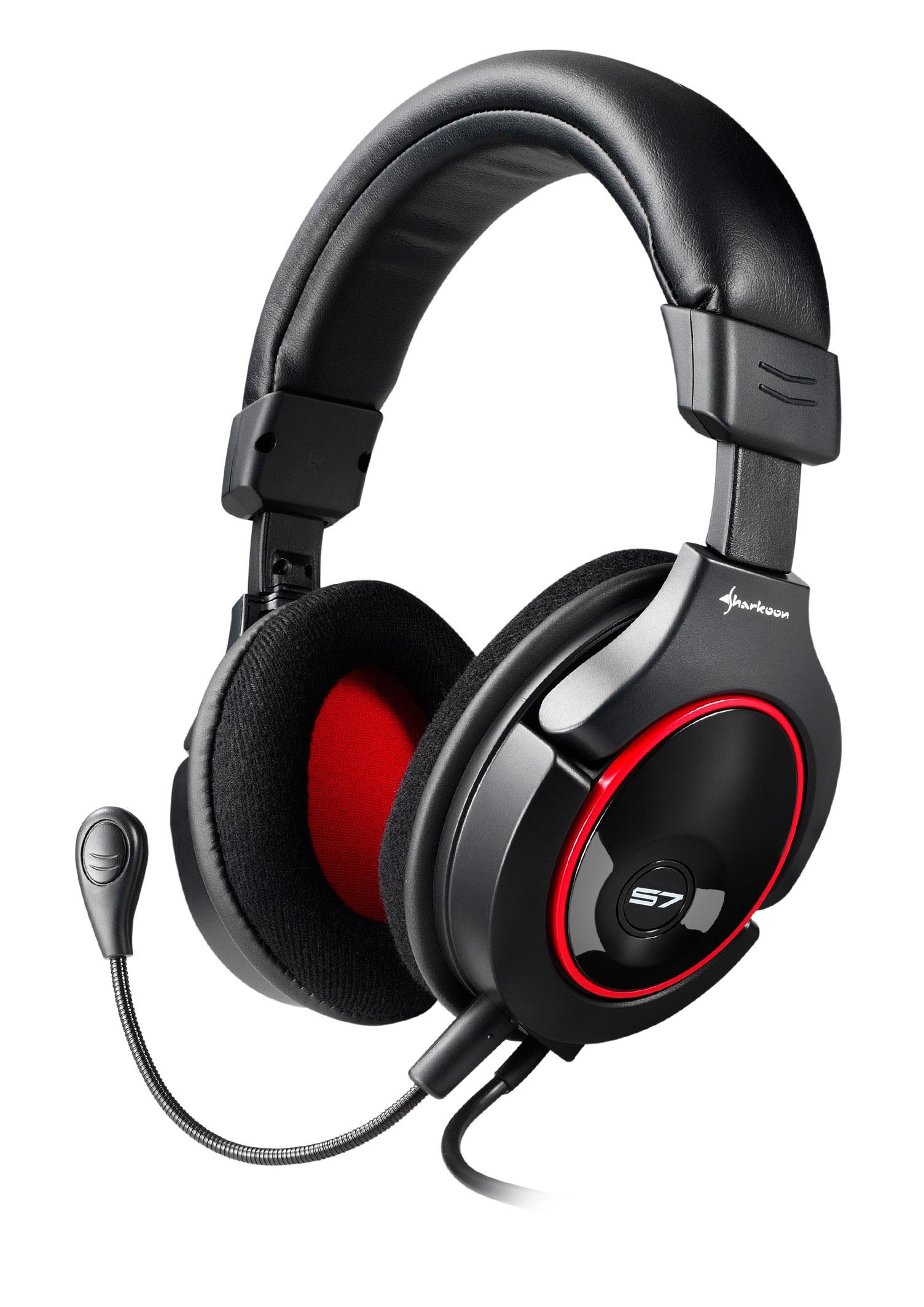 Sharkoon lanza los auriculares X-Tatic S7 con Dolby Pro Logic II